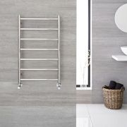 "Quo  - Stainless Steel Towel Warmer - 31.5"" x 19.75"""
