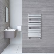 "Select - Hydronic Chrome Heated Towel Warmer - 37.5"" x 19.75"""