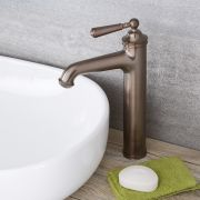 Colworth - Traditional Single-Hole Vessel Faucet - Multiple Finishes Available