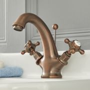 Elizabeth - Traditional Single-Hole Bathroom Mixer Faucet  - Oil Rubbed Bronze