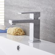 Kubix - Chrome Single-Hole Bathroom Faucet