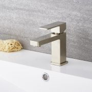 Kubix - Brushed Nickel Single-Hole Bathroom Faucet