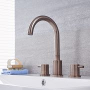 Quest - Oil-Rubbed Bronze Widespread Bathroom Faucet