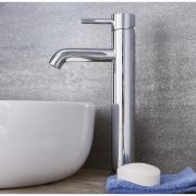 Quest - Chrome Single-Hole Vessel Faucet