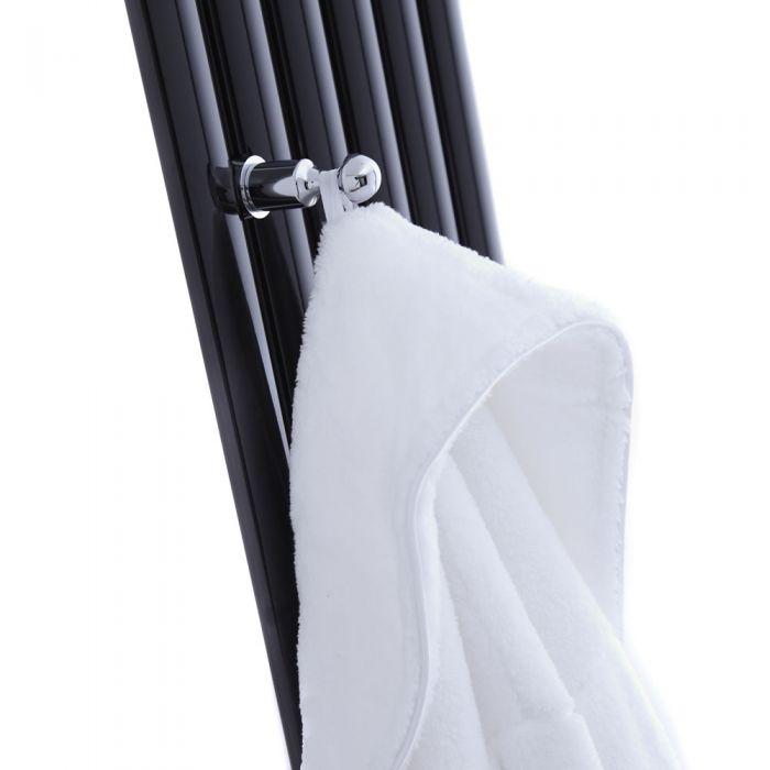 Hudson Reed - Chrome Robe Hook for Revive Vertical Designer Radiators