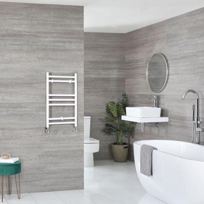 "Ive - White Hydronic Flat Towel Warmer - 23 5/8"" x 15 3/4"""