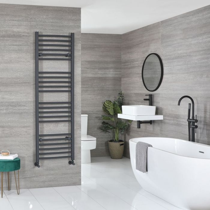 """Artle - Anthracite Hydronic Flat Towel Warmer - 63"""" x 19 5/8"""""""