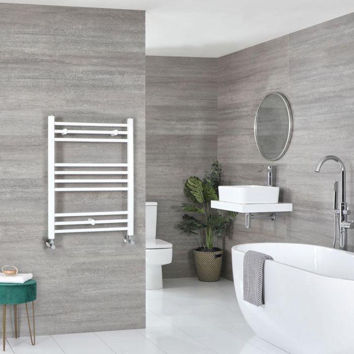 "Ive - White Hydronic Flat Towel Warmer - 31 1/2"" x 23 5/8"""
