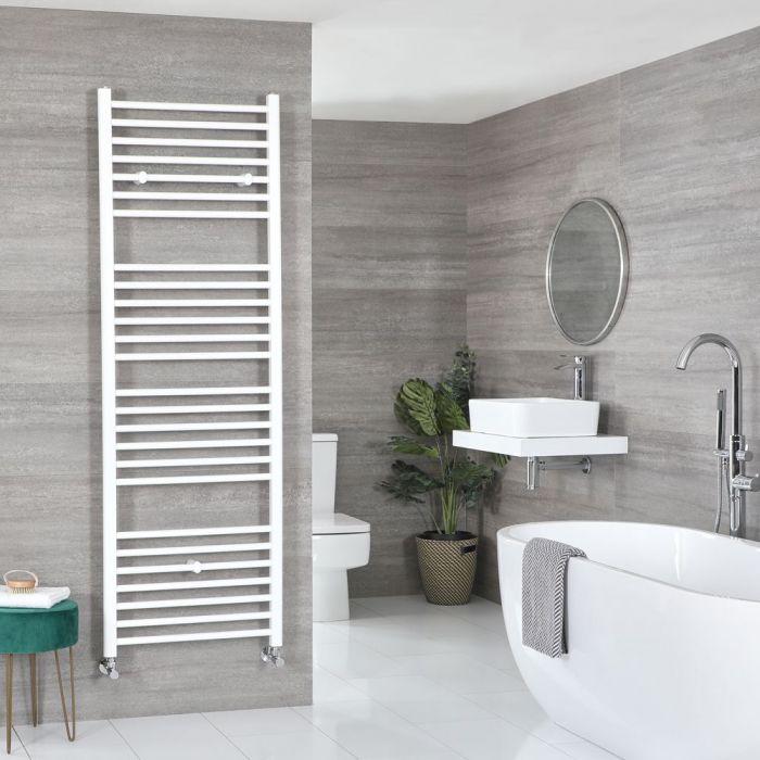 "Ive - White Hydronic Flat Towel Warmer - 70 7/8"" x 23 5/8"""