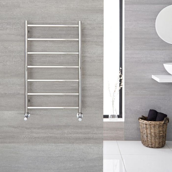 """Quo - Stainless Steel Hydronic Towel Warmer - 31.5"""" x 19.75"""""""