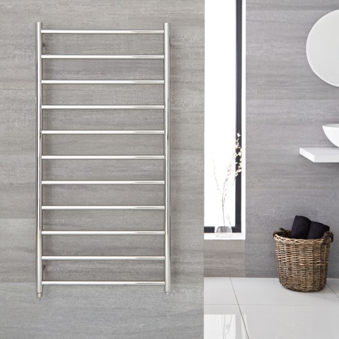 "Quo Electric - Stainless Steel Towel Warmer - 39.5"" x 23.75"""