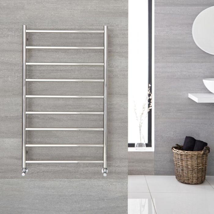 """Quo - Stainless Steel Hydronic Towel Warmer - 39.5"""" x 23.75"""""""