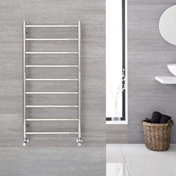 """Quo - Stainless Steel Hydronic Towel Warmer - 47.25"""" x 23.75"""""""