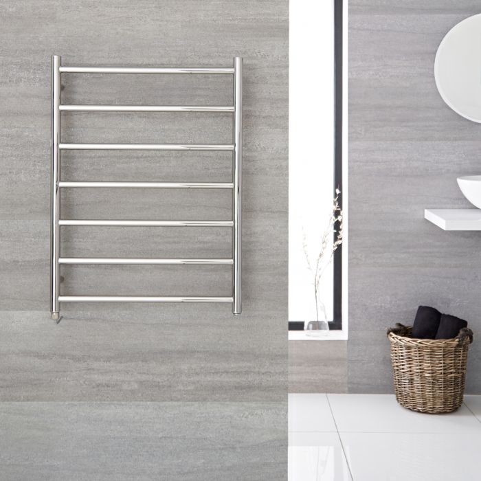 """Quo Electric - Stainless Steel Towel Warmer - 31.5"""" x 23.75"""""""