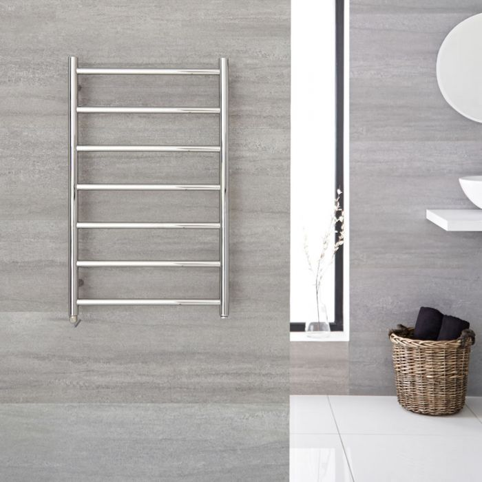 """Quo Electric - Stainless Steel Towel Warmer - 31.5"""" x 19.75"""""""