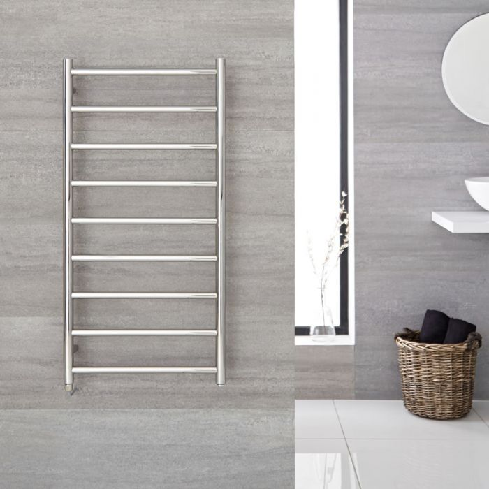 """Quo Electric - Stainless Steel Towel Warmer - 47.25"""" x 23.75"""""""