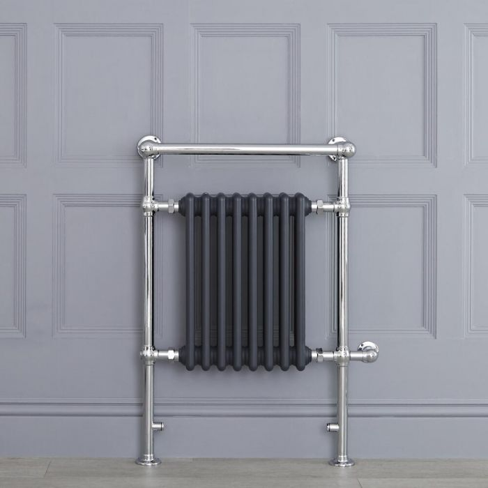 """Marquis Electric  - Anthracite Traditional Heated Towel Warmer - 36.75"""" x 24.5"""""""