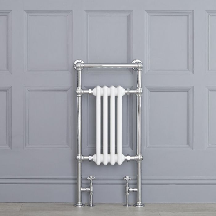"Marquis - Traditional Hydronic Heated Towel Warmer - 36.75"" x 17.75"""