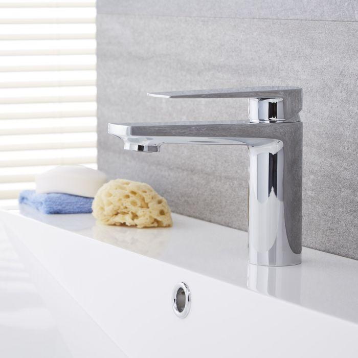 Arcadia – Modern Single-Hole Bathroom Faucet - Multiple Finishes Available