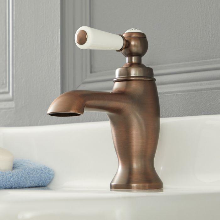 Elizabeth - Traditional Single-Hole Lever Handle Bathroom Mixer Faucet - Oil Rubbed Bronze
