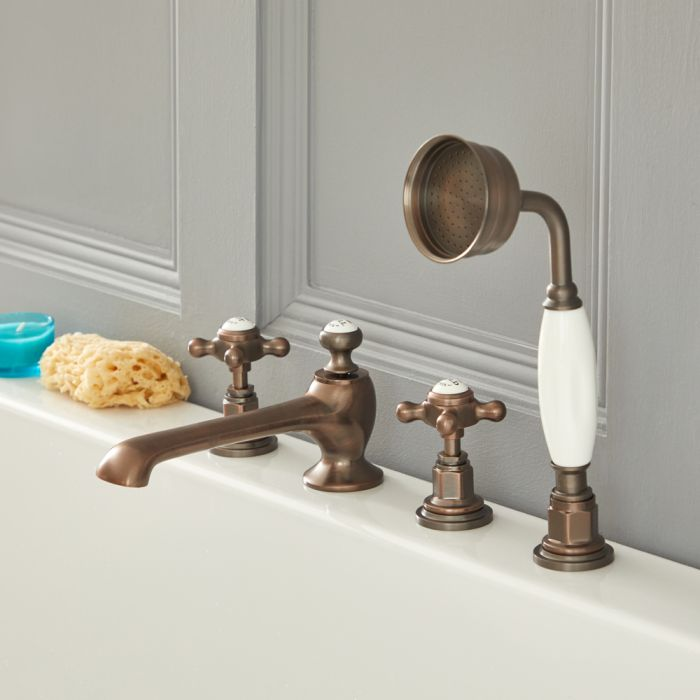Elizabeth - Traditional Roman Tub Faucet - Oil Rubbed Bronze