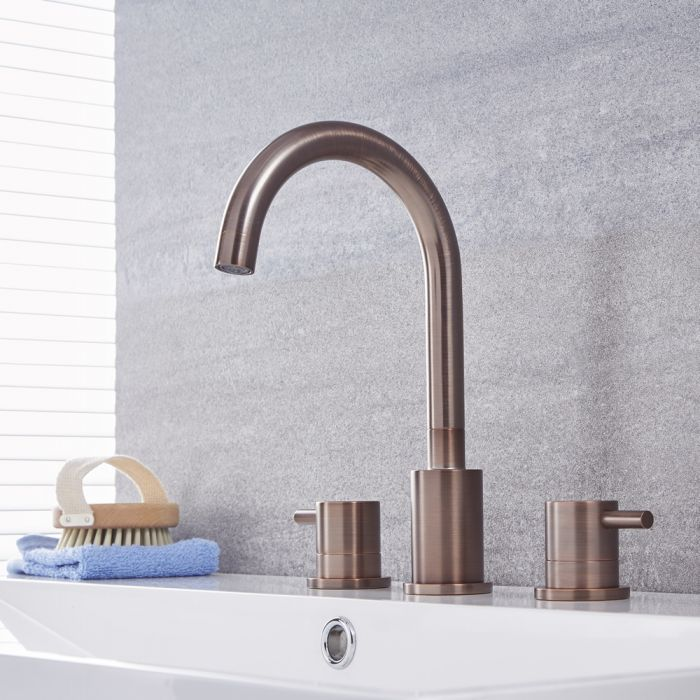 Quest – Modern Widespread Bathroom Faucet – Multiple Finishes Available