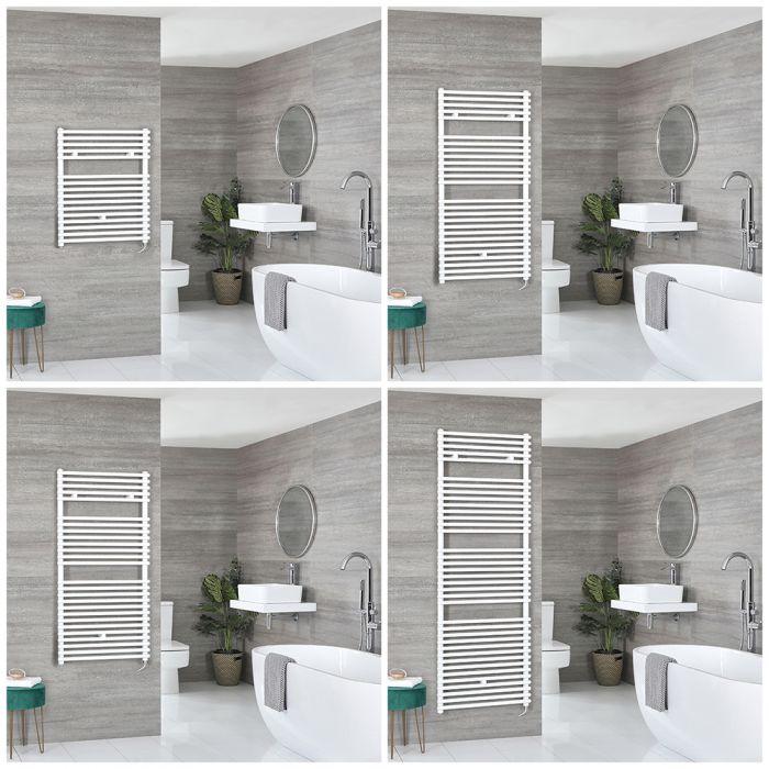 Arno Electric - White Bar on Bar Towel Warmer - Choice of Size