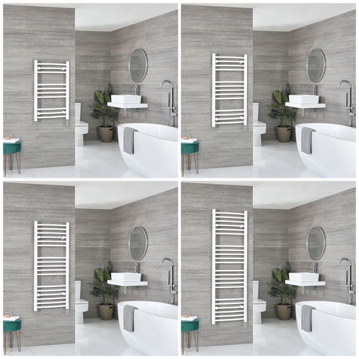 Ive Electric - White Curved Towel Warmer - Choice of Size