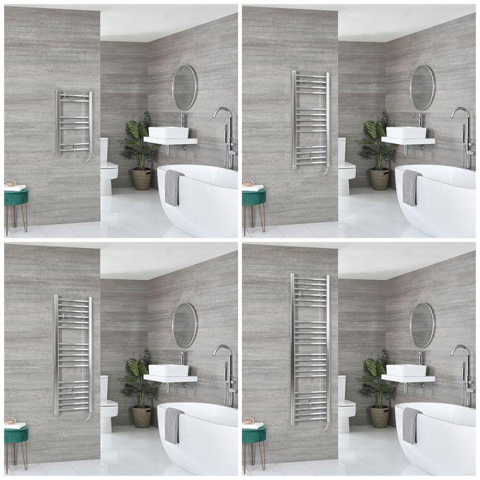 Kent Electric - Chrome Flat Towel Warmer - Choice of Size
