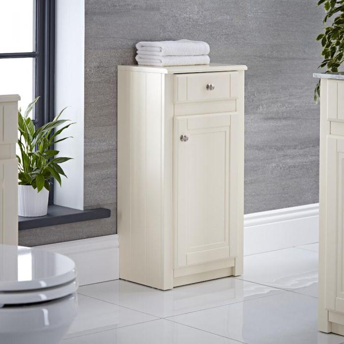 "Charlton - 16"" Ivory Traditional Storage Cabinet"