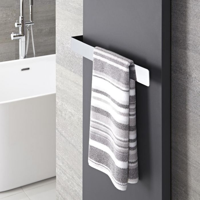 Hudson Reed Wall Mounted Towel Rail - 20.5