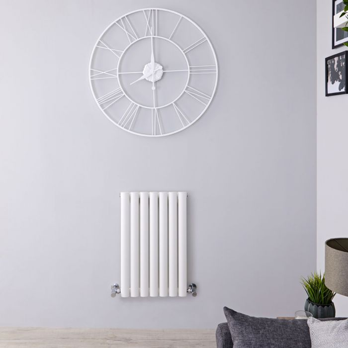 Revive - White Horizontal Single-Panel Designer Radiator - 25