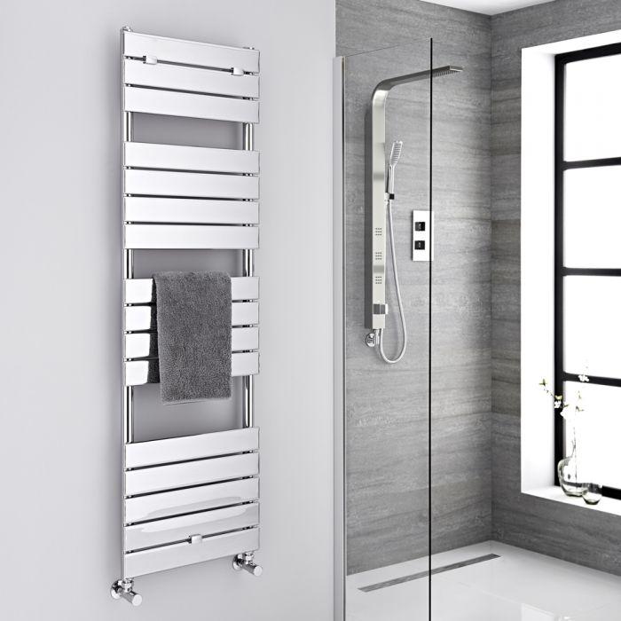 "Lustro  - Hydronic Chrome Heated Towel Warmer - 59.5"" x 17.75"""