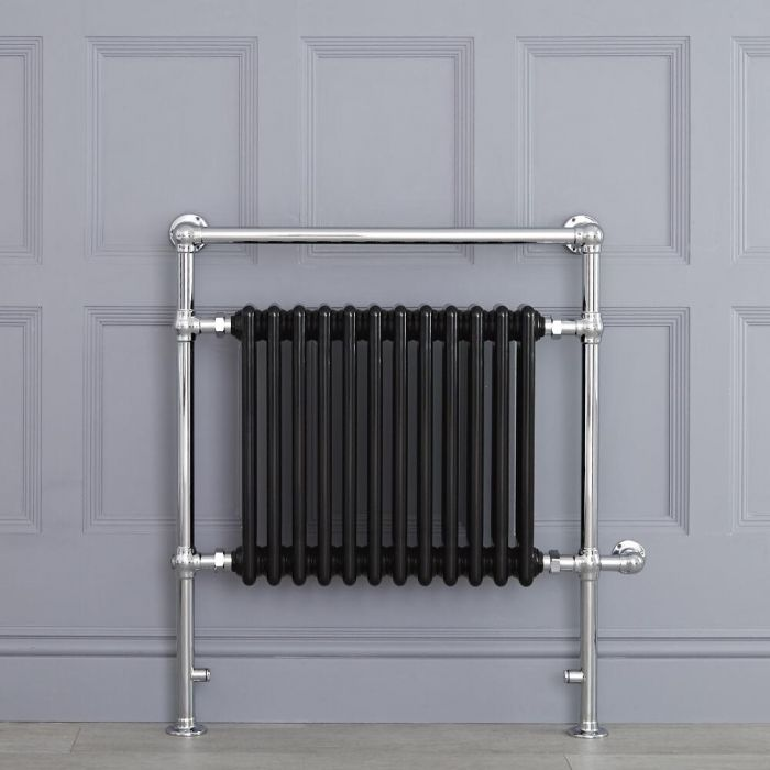 """Marquis Electric  - Black Traditional Heated Towel Warmer - 36.75"""" x 31.25"""""""