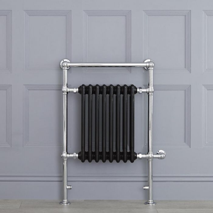 "Marquis Electric  - Black Traditional Heated Towel Warmer - 36.75"" x 24.5"""