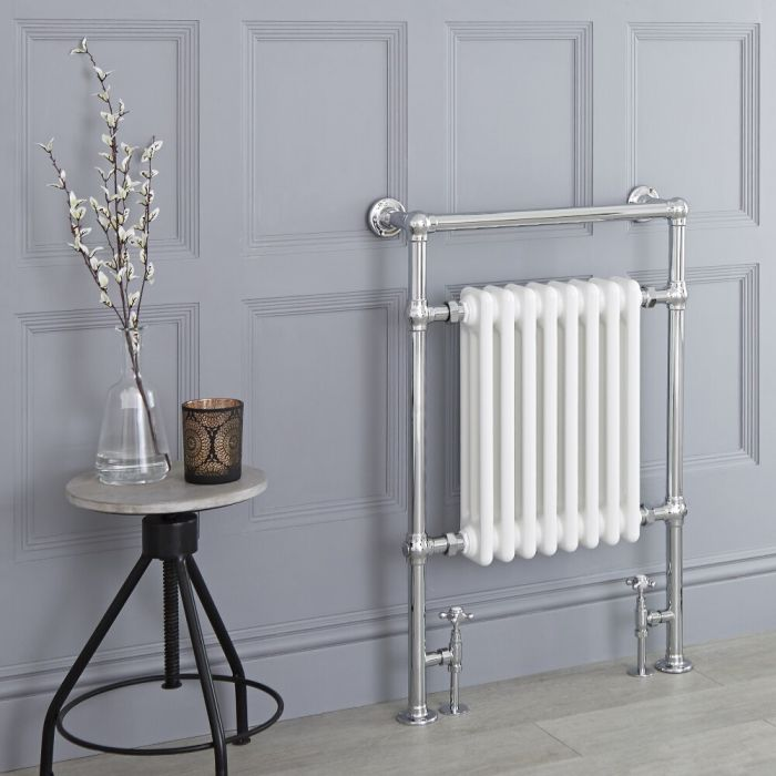 "Marquis Traditional Hydronic Heated Towel Warmer - 36.75"" x 24.5"""
