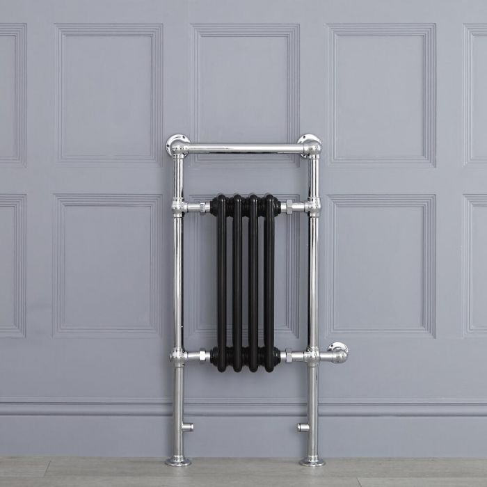 """Marquis Electric  - Black Traditional Heated Towel Warmer - 36.75"""" x 17.75"""""""