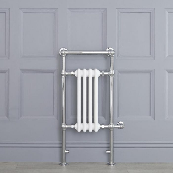 "Marquis Electric  - White Traditional Heated Towel Warmer - 36.75"" x 17.75"""