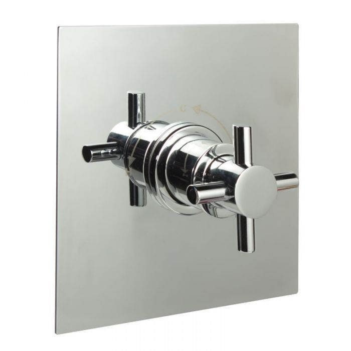 """3/4"""" Sequential Valve, Square Plate & Modern Crosshead Handle"""