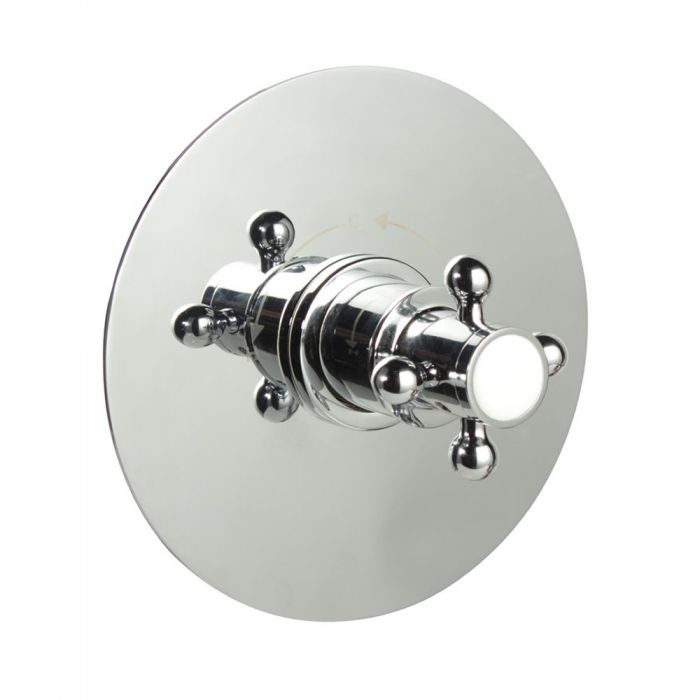 """1/2"""" Sequential Valve, Round Plate & Traditional Crosshead Handle"""