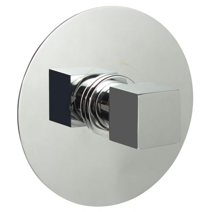 """1/2"""" Sequential Valve, Round Plate & Modern Square Handle"""