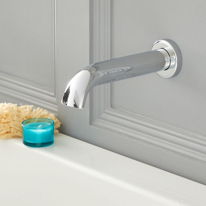 Elizabeth - Traditional Tub Spout - Chrome
