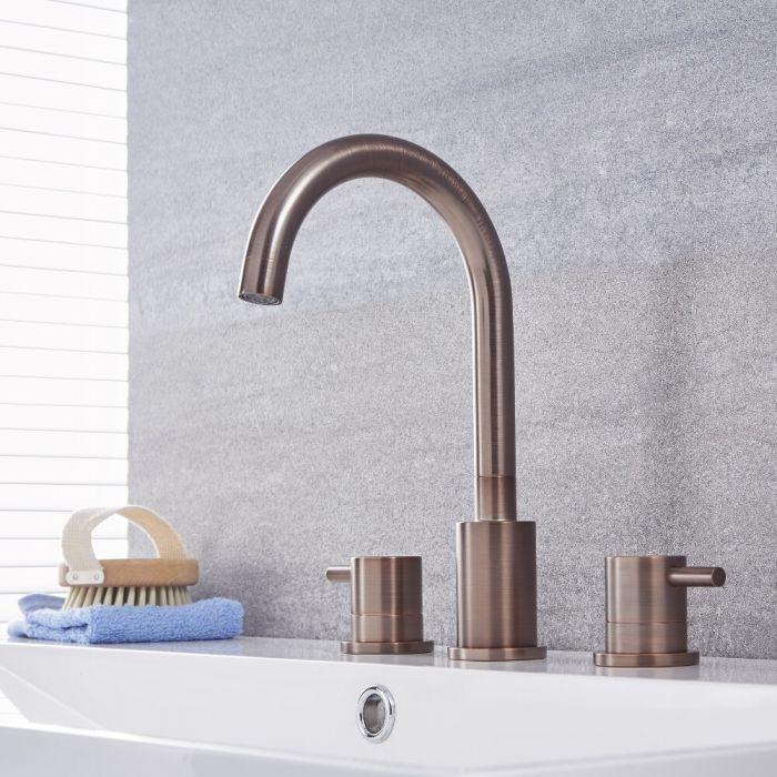 Quest - Oil-Rubbed Bronze Widespread Bathroom Faucet