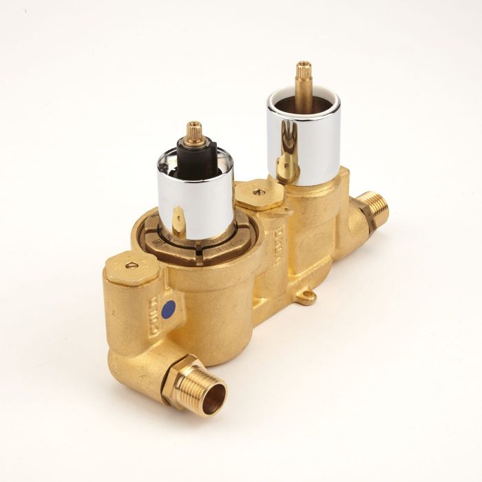 Hudson Reed Twin Durable Rough-In Valve Concealed Automatic Anti-Scald Device with 10 Years Guarantee