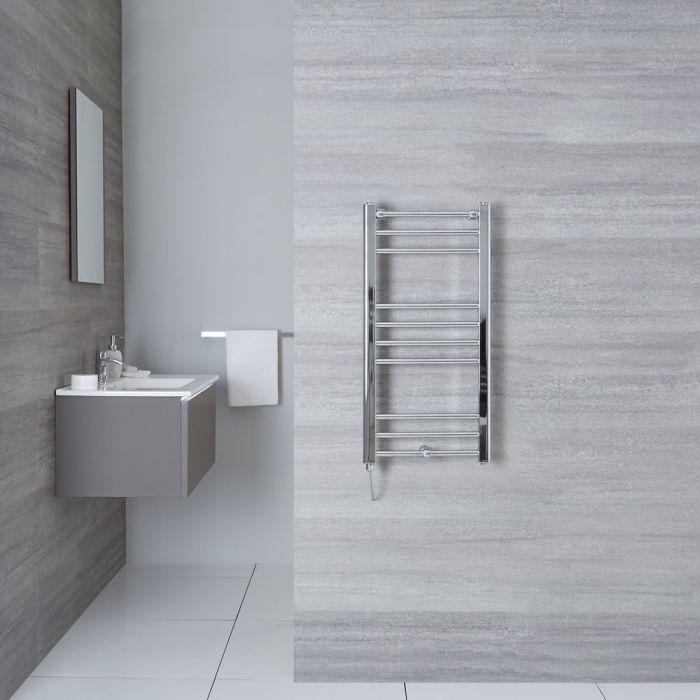 "Eco Electric - Chrome Heated Towel Warmer - 31.5"" x 15.75"""