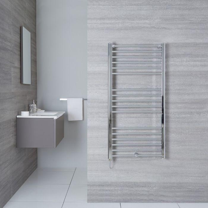 "Eco Electric - Chrome Heated Towel Warmer - 47.25"" x 19.75"""