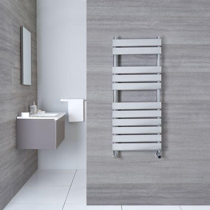 "Select - Hydronic Chrome Heated Towel Warmer - 59"" x 19.75"""
