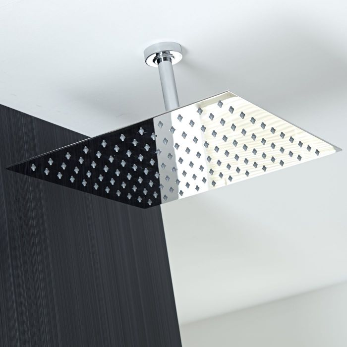 """One-function 15"""" Square Ceiling Mounted Showerhead"""