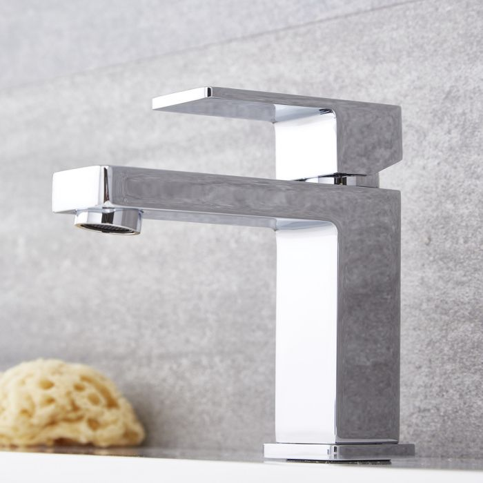 Kubix – Modern Single-Hole Bathroom Faucet - Multiple Finishes Available