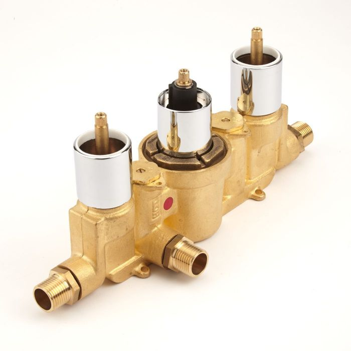 Triple Rough-In Valve Concealed